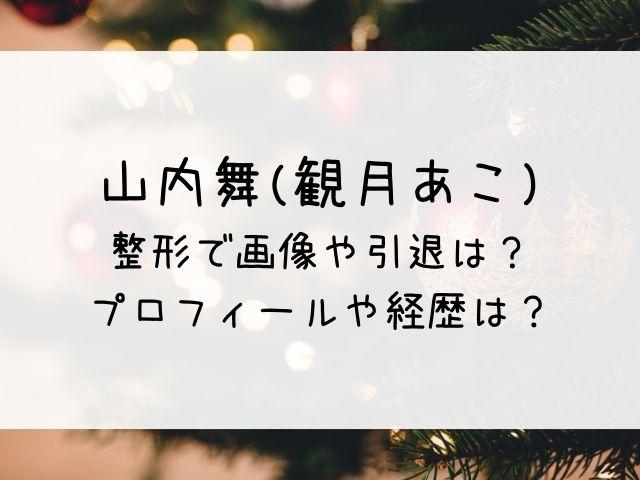 山内舞(観月あこ)