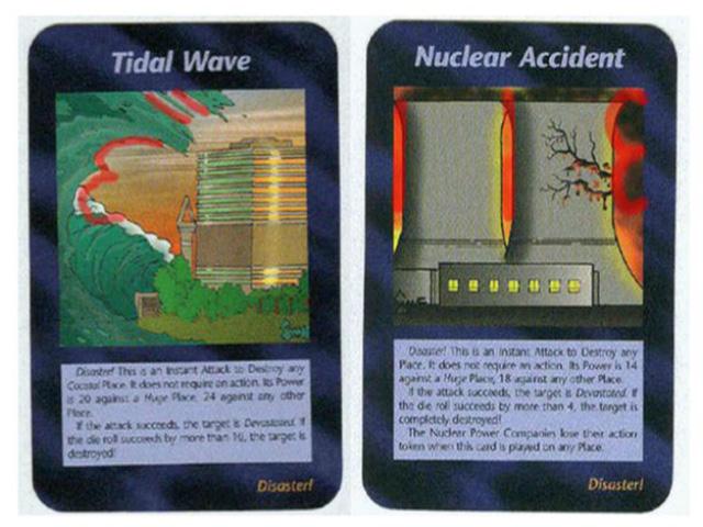 東日本大震災を予言したとされるイルミナティカードの画像